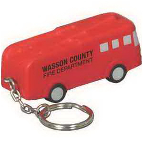 Custom Fire truck key chain