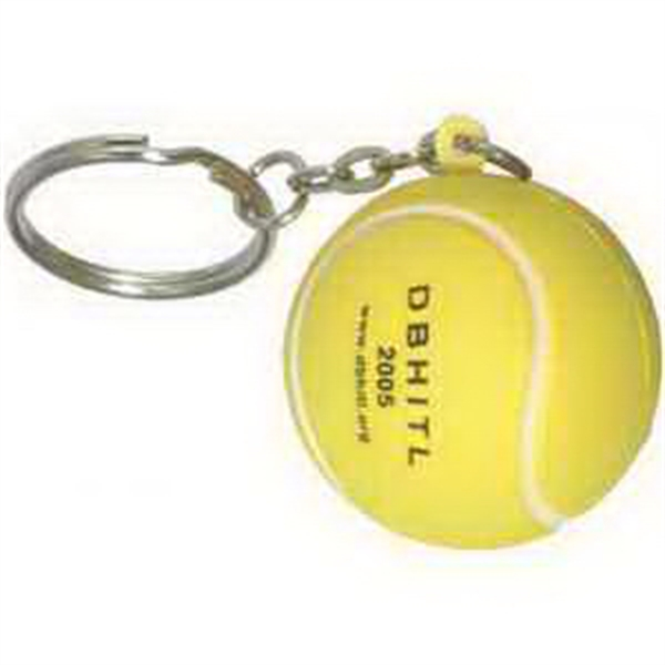 Promotional Tennis ball key chain