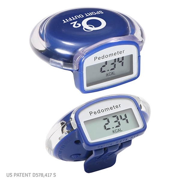 Customized Round step pedometer