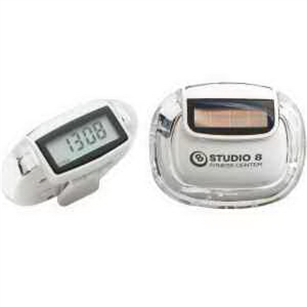 Promotional Sun step solar pedometer