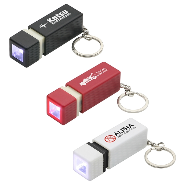 Printed Pull-Lite LED key chain