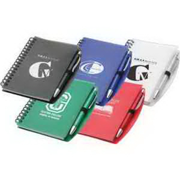 Printed Hardcover Notebook And Pen Set