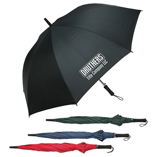 Printed Lockwood auto open golf umbrella