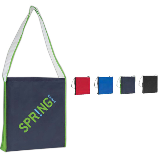 Custom Color Block Shoulder Tote