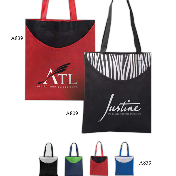 Personalized Poly Pro Scoop Tote