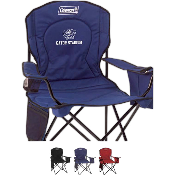 Printed Coleman (R) Oversized Cooler Quad Chair