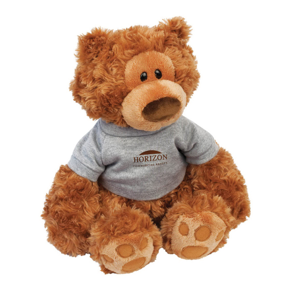 Imprinted Pauly Plush Teddy Bear