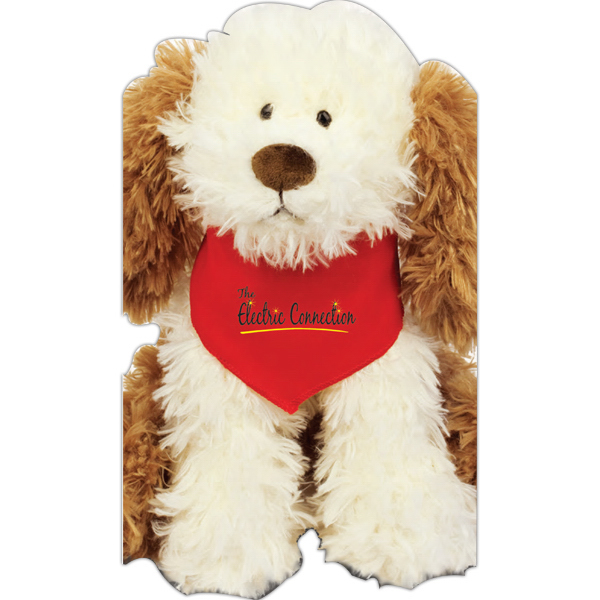 Imprinted Crackers Plush Dog