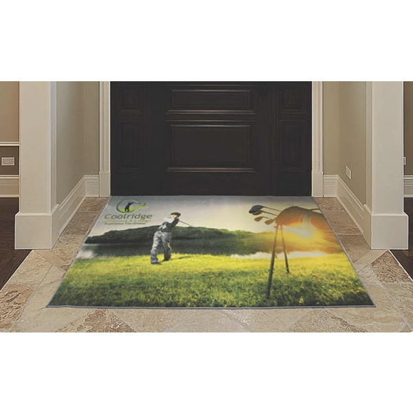 Imprinted Grand Impressions (TM) HD Medium Traffic Indoor Mat