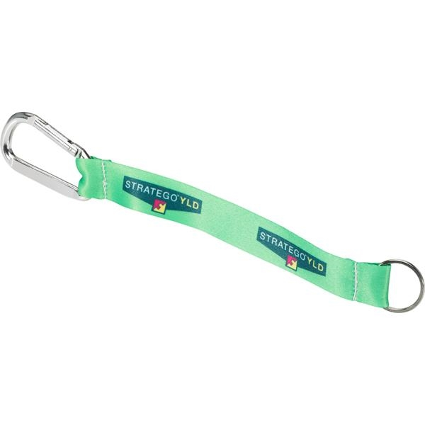 Promotional Key Strap Heavy Weight Satin