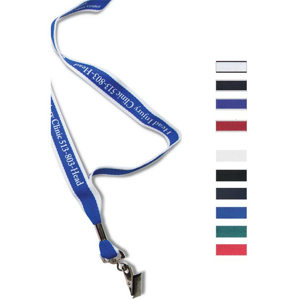 Imprinted Factory Direct Lanyard