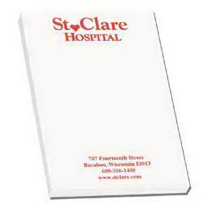 Custom Super Value Adhesive Notepad