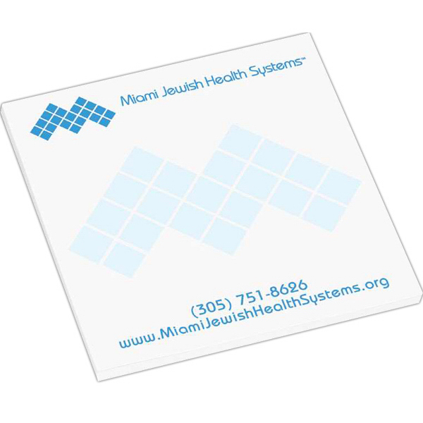 Imprinted Super Value Adhesive Notepad