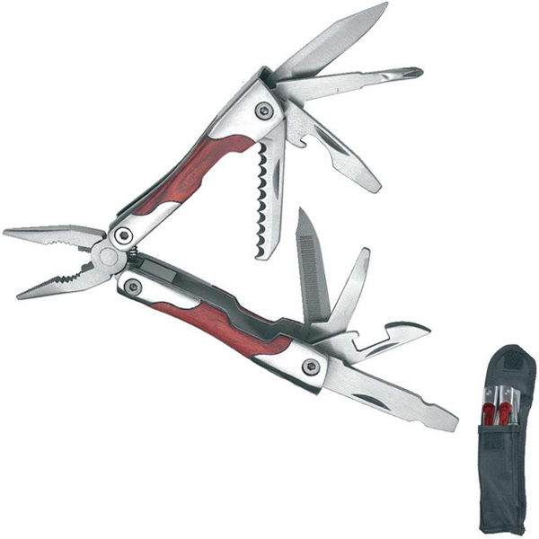 Printed Schwarzwolf Traveler 9-in-1 Multi-Tool