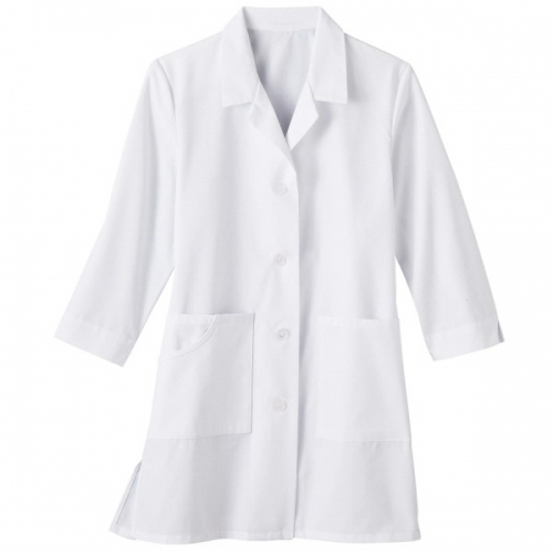 "Promotional SA15012 Meta Fundamentals 33"" 3/4 Sleeve Ladies Labcoat"