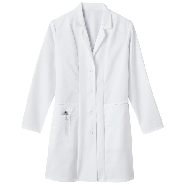 "Imprinted SA767 Meta Ladies 36"" Labcoat"
