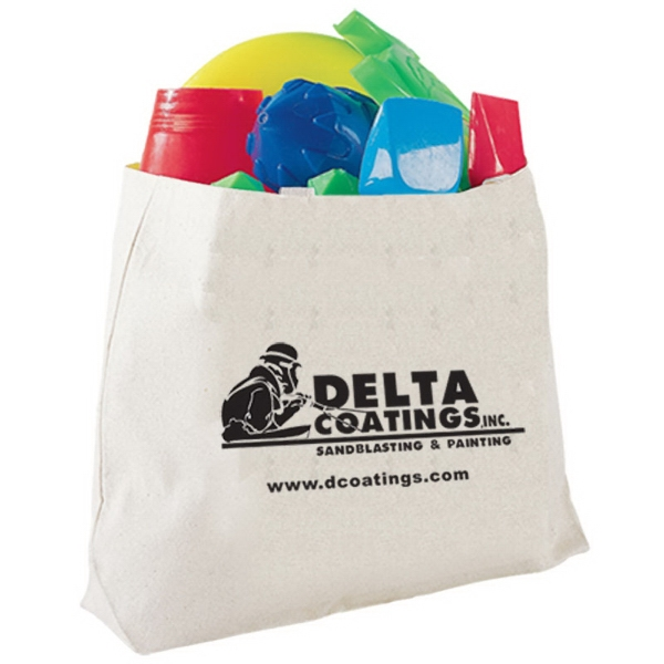 Promotional Canvas Jumbo Tote Bag