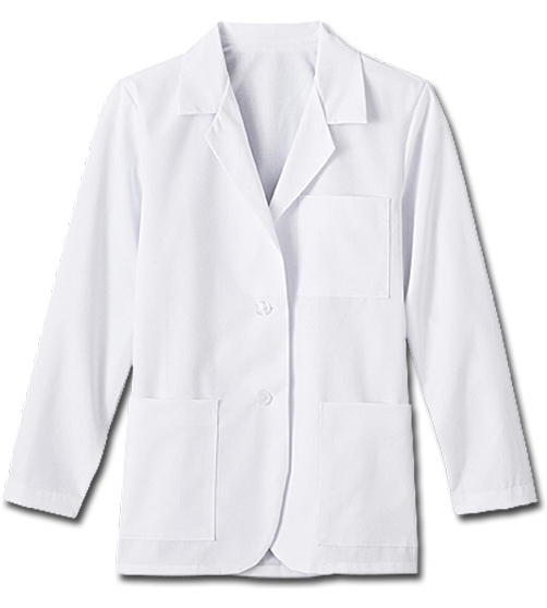 "Custom Meta Fundamentals Ladies 28"" Consultation Labcoat"