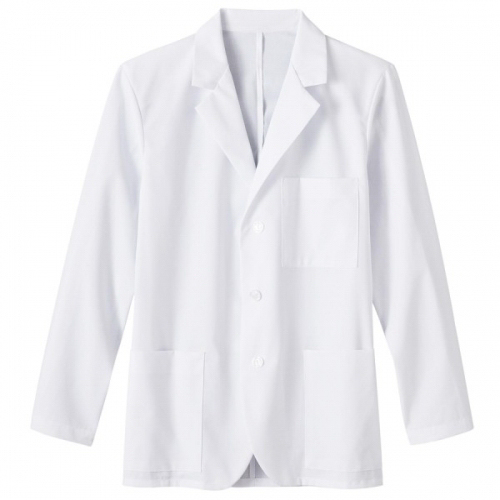 "Printed SA15103 Fundamentals Mens 30"" Consultation Labcoat"