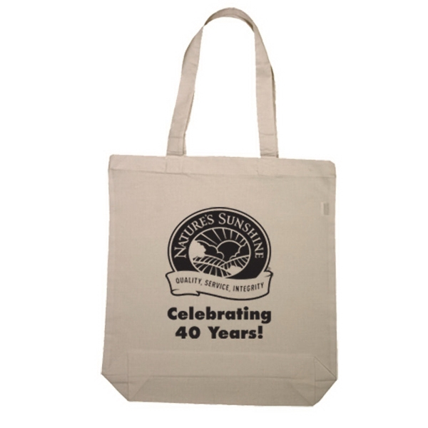 Imprinted Economical Tote Bag With Gusset