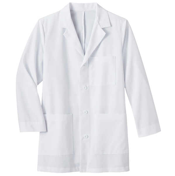 "Personalized Meta 34"" Mens Mid-Length Labcoat"
