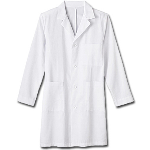 "Customized Meta Mens 38"" Cotton Labcoat"
