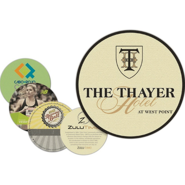 Personalized ECO Coaster - Round - Full Color