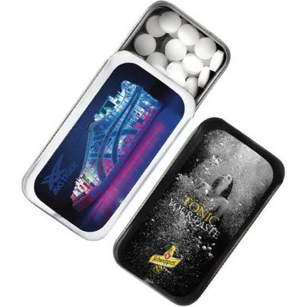 Personalized Mini Tek Slider Mints
