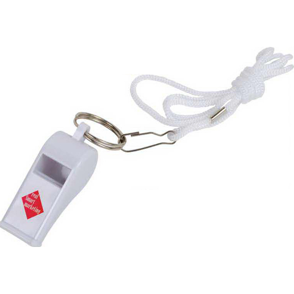 Promotional Whistle on a Rope
