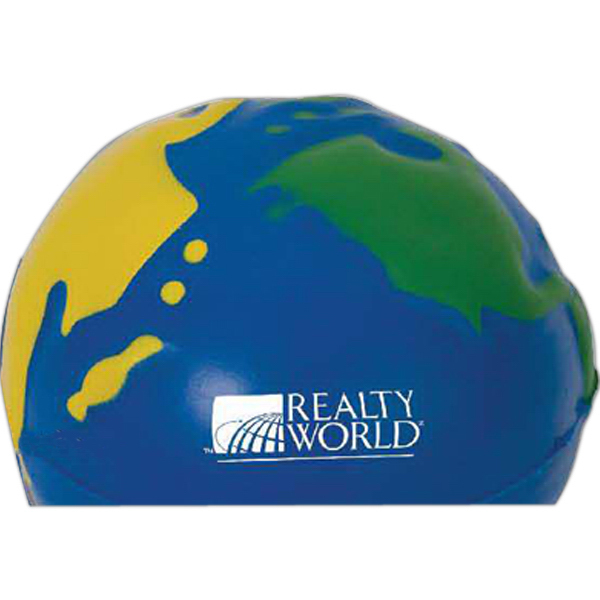 Personalized MultiColor Earth Stress Reliever