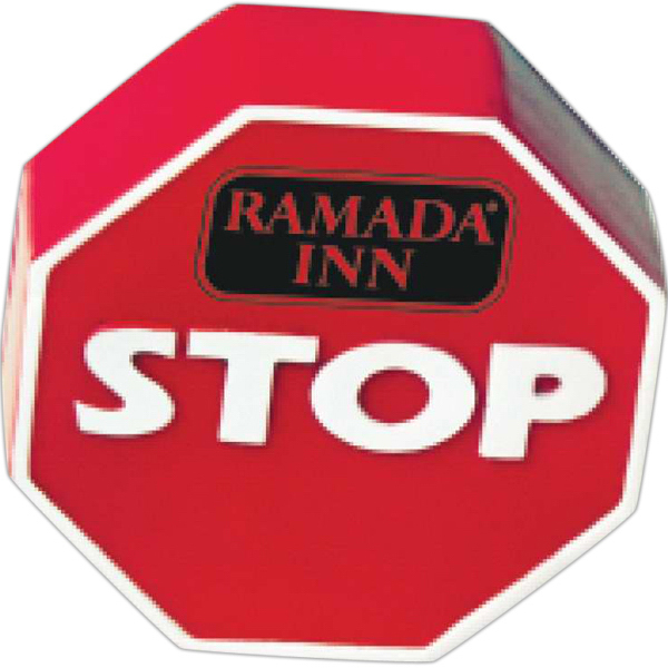 Customized Stop Sign Stress Reliever
