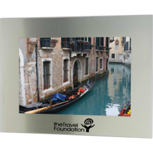 "Customized 5"" x 7"" Bold Border Photo Frame"