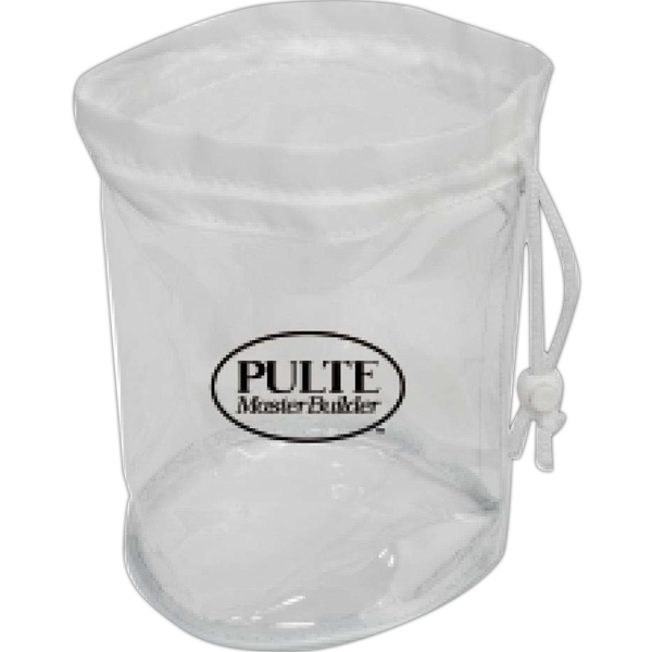 Customized Small Clear Drawstring Bag