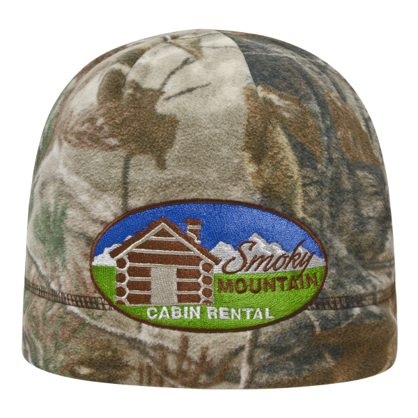 Promotional Licensed Camo Fleece Beanie