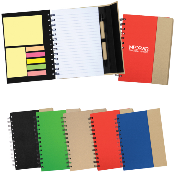 Printed Recycled Magnetic Journalbook