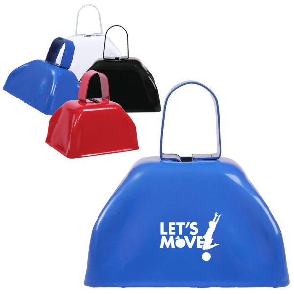 "Promotional Small Basic Cow Bell (3"")"