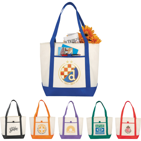 Imprinted The Lighthouse Boat Tote