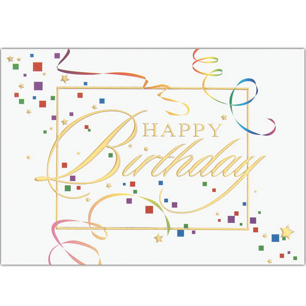 Printed Celebration Greeting Card
