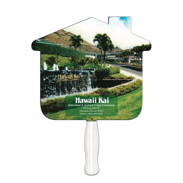 Promotional House offset printed fan