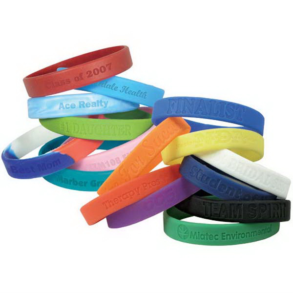 Imprinted Silicone Wristband