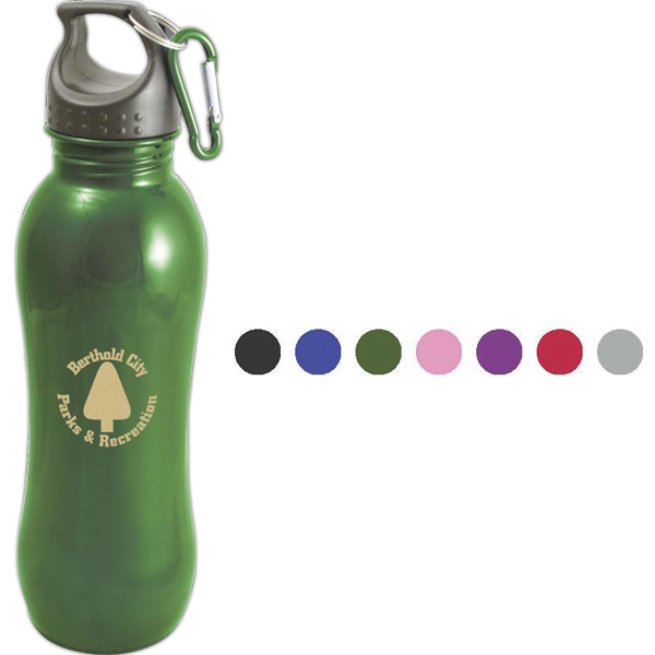 Imprinted Fitness 24 oz. Bottle