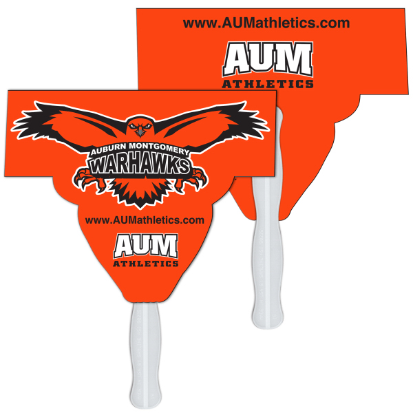 Imprinted Mascot fast fan