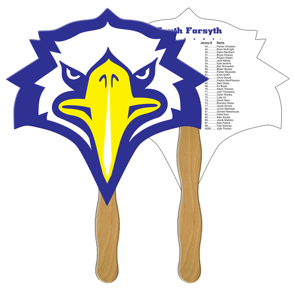 Personalized Bird fast fan