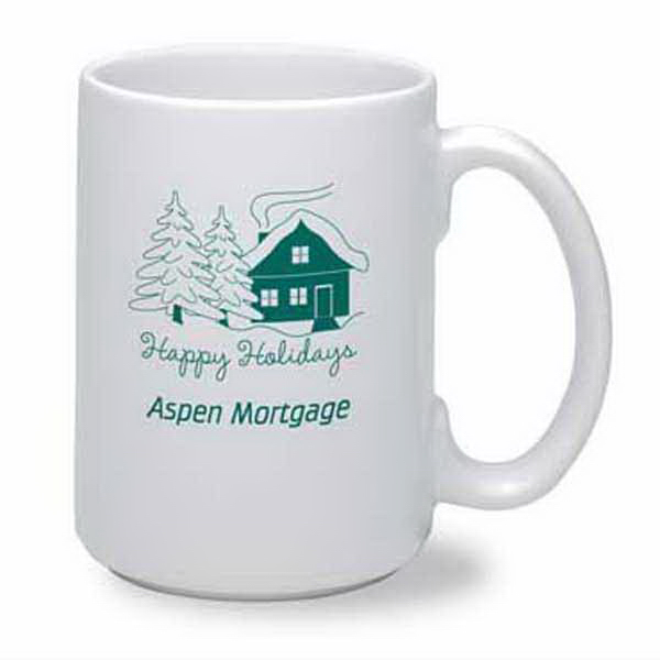 Promotional Jumbo 15 oz. White Mug