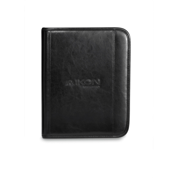 Printed Deluxe Leather Wired E-Padfolio