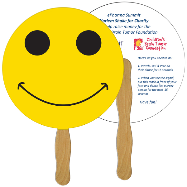 Personalized Smiley Face fast fan