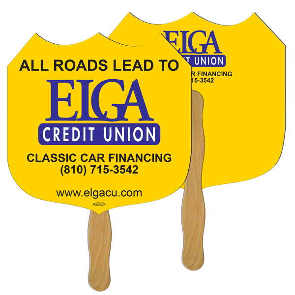 Personalized Interstate Sign fast fan
