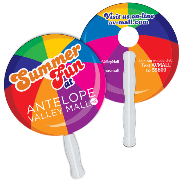 Promotional Round/Ball fast fan