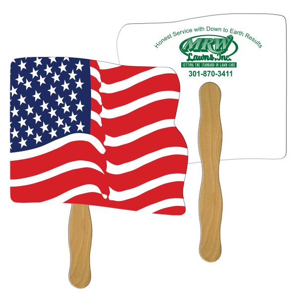 Promotional Flag fast fan