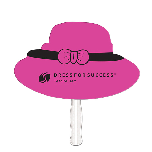 Imprinted Dress Hat fast fan